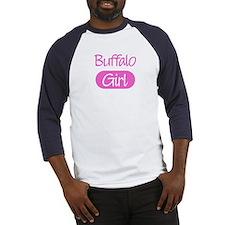 Buffalo girl Baseball Jersey