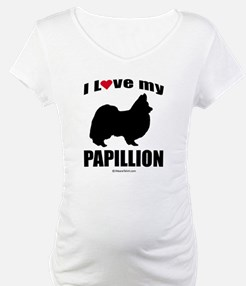 I Love my Papillion ~ Shirt