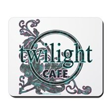 twilight cafe Mousepad