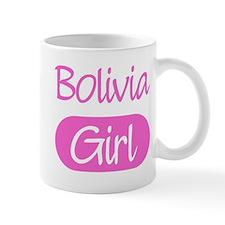 Bolivia girl Mug