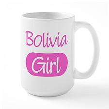 Bolivia girl Large Mug