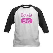Bolivia girl Kids Baseball Jersey