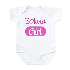 Bolivia girl Infant Bodysuit