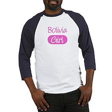 Bolivia girl Baseball Jersey