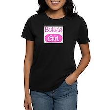 Bolivia girl Women's Dark T-Shirt