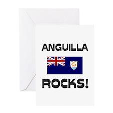 Anguilla Rocks! Greeting Card