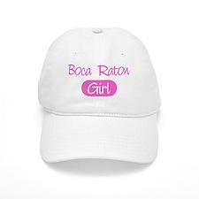 Boca Raton girl Baseball Cap
