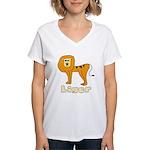 Liger Women's V-Neck T-Shirt