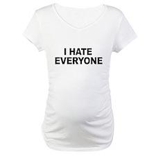 Cute I hate everyone Shirt