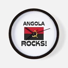 Angola Rocks! Wall Clock