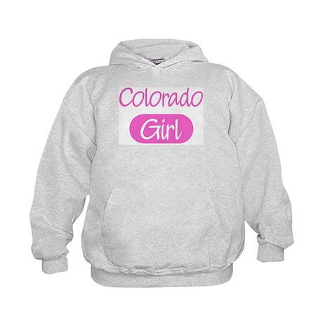 Colorado girl Kids Hoodie