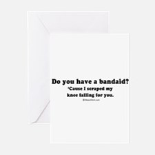 Do you have a bandaid? - Greeting Cards (Pk of 20)