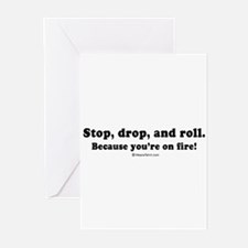 Offensive line Greeting Cards (Pk of 20)