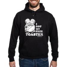 I got my free toaster Hoodie