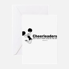Unique Sexy cheerleaders Greeting Cards (Pk of 20)