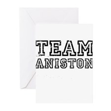 Team Aniston ~ Greeting Cards (Pk of 20)
