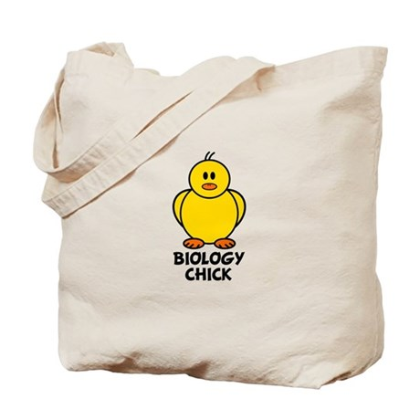 Biology Chick Tote Bag