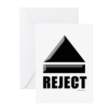 Reject Eject ~ Greeting Cards (Pk of 20)