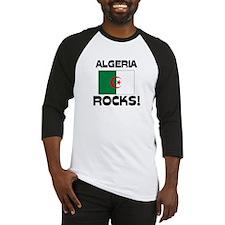 Algeria Rocks! Baseball Jersey