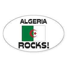 Algeria Rocks! Oval Decal