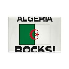 Algeria Rocks! Rectangle Magnet