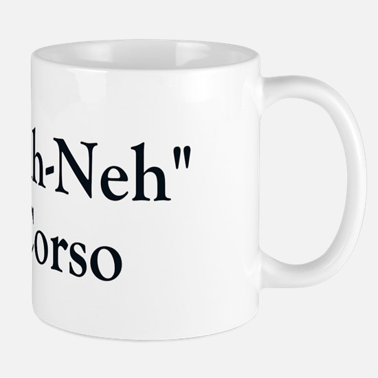 Kah Ney Corso Mug