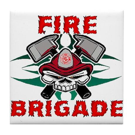 Fire Brigade Tile Coaster