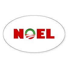 NOEL Oval Decal