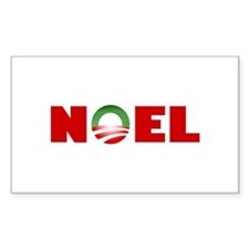 NOEL Rectangle Decal