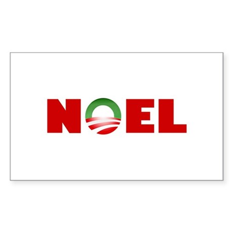 NOEL Rectangle Sticker
