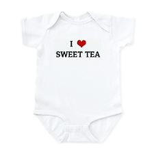 I Love SWEET TEA Infant Bodysuit