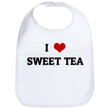 I Love SWEET TEA Bib