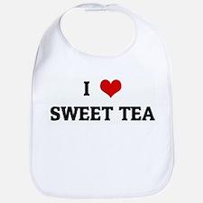 I Love SWEET TEA Bib