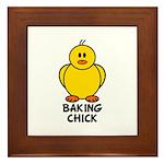 Baking Chick Framed Tile