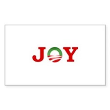 OBAMA JOY! Rectangle Sticker 50 pk)
