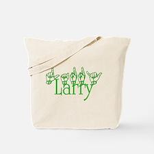 Larry-grn Tote Bag