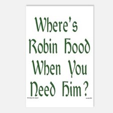 Where's Robin Hood... Postcards (Package of 8)