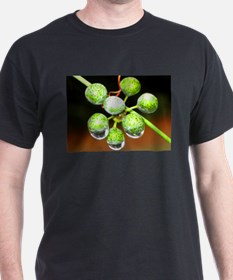 Droplest on Green Berries T-Shirt
