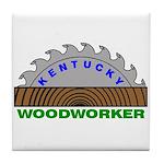 Ky Woodworker Tile Coaster