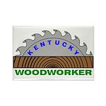 Ky Woodworker Rectangle Magnet