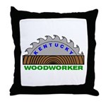 Ky Woodworker Throw Pillow
