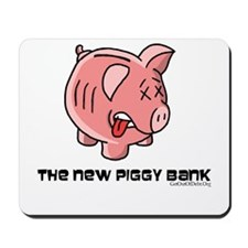The New Piggy Bank Mousepad