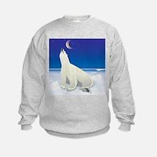 Polar Bear Wishing on a Star Sweatshirt
