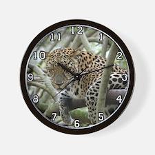 Leopard Sundari Wall Clock
