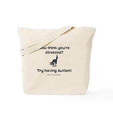 Autism Stress (cat) Tote Bag