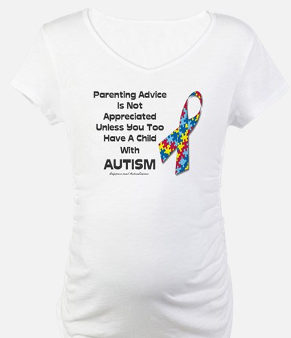 Parenting Autism (advice) Shirt