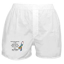 Parenting Autism (advice) Boxer Shorts