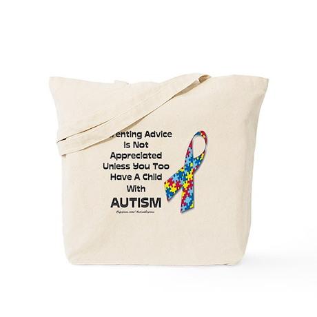 Parenting Autism (advice) Tote Bag