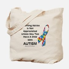 Parenting Autism (advice) Tote Bag