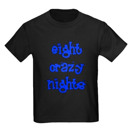 Eight Crazy Nights - Kids Dark T-Shirt
